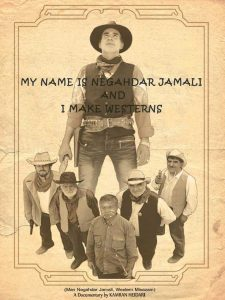 """Movie Poster """"My Name is Negahdar Jamali And I Make Westerners"""""""