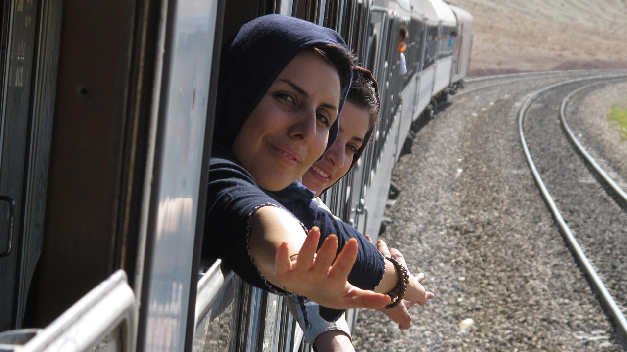 """Plakat """"Unwelcome in Tehran"""" (Ausschnitt)"""