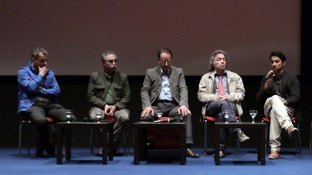 """Podiumsgespräch beim """"1. Iranischen Filmfestival"""""""